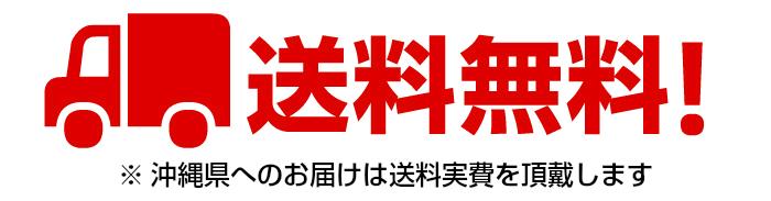 送料無料 沖縄県への送料は実費を頂戴します