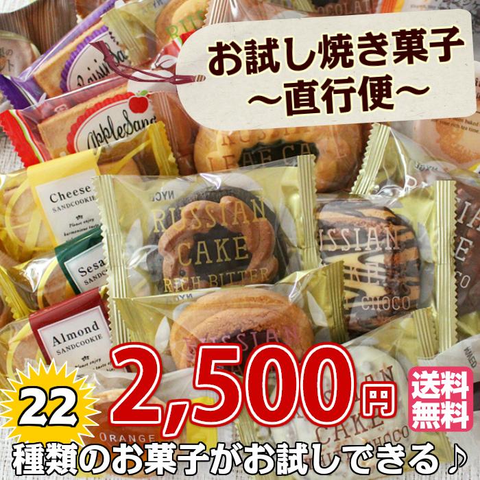 お試し 焼き菓子 ~ 直行便 ~ 22個入