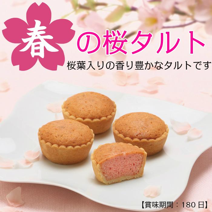 春の桜タルトイメージ